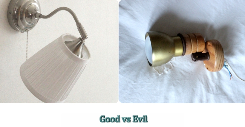 Updating your home on a budget - Good vs Evil