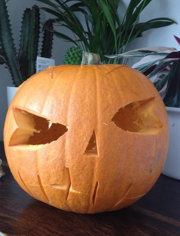 Halloween pumpkin - OrganisingChaosBlog