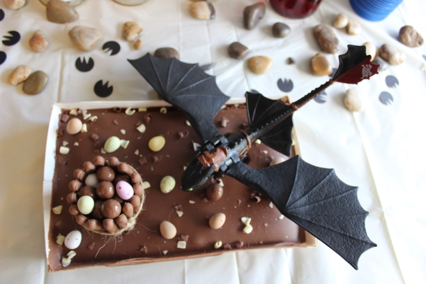 How to Train your Dragon - Toothless cake