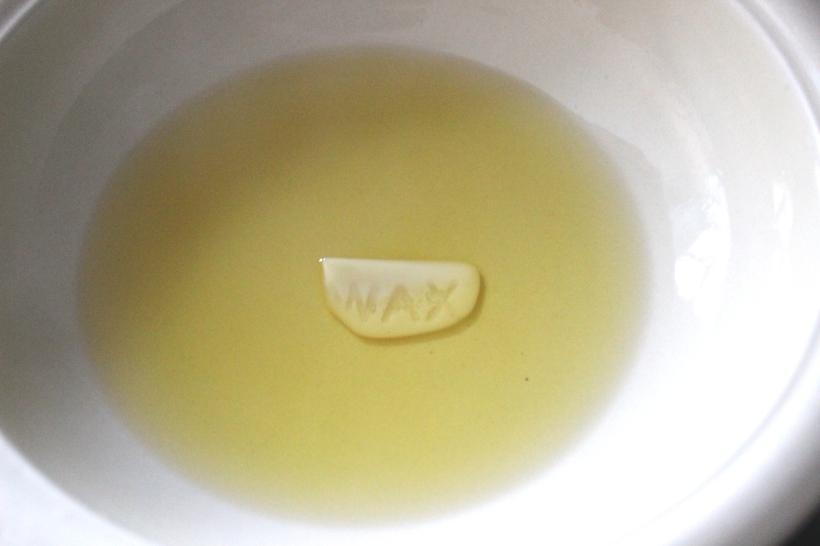Home-made beeswax lip balm