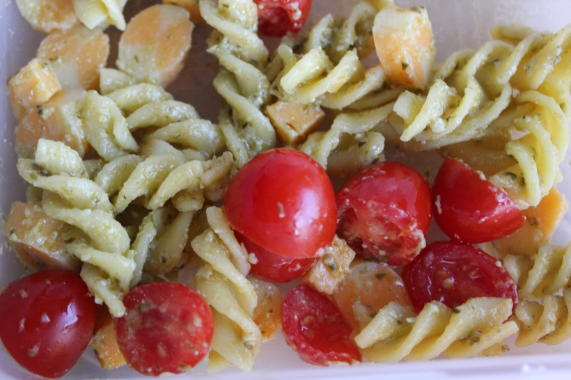 School lunches - pasta salad