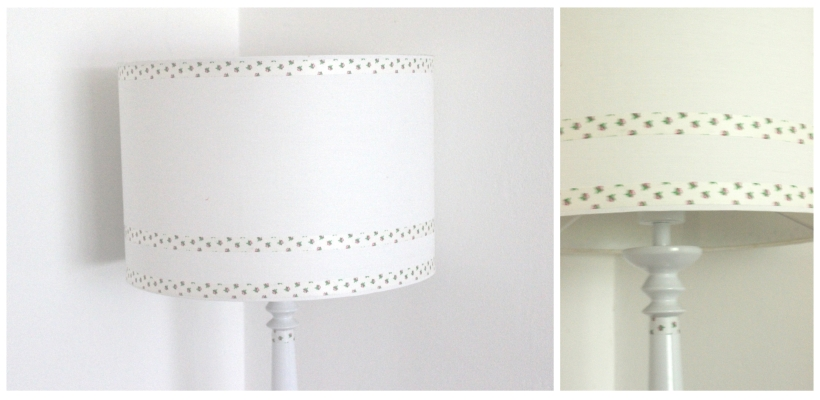 Washi Tape Floor Lamp