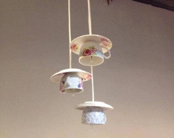 Teacup and saucers lights