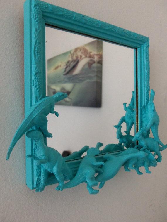 Dinosaur mirror