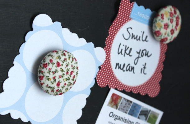 Make your own  magnets - Organising Chaos