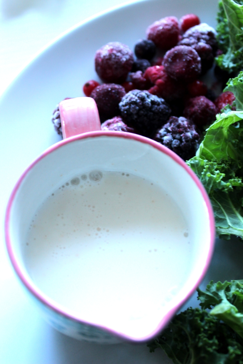 Probiotic milk for smoothies