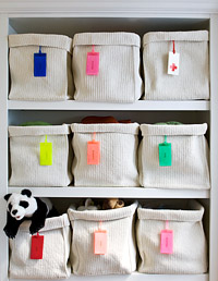 Baskets to store small items