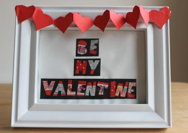 Be My Valentine Art - OrganisingChaosBlog