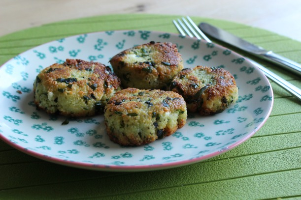 Couscous and spinach fritters - so good - OrganisingChaosBlog