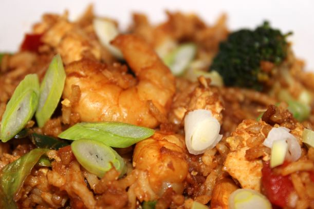 Delicious Fried Rice no Food Waste Recipe - OrganisingChaosBlog