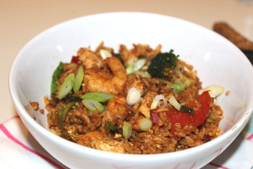 Fried Rice Recipe - OrganisingChaosBlog