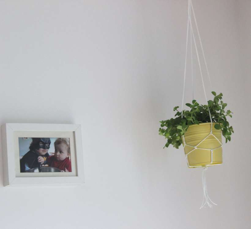 Making a macrame planter - Organising Chaos Blog