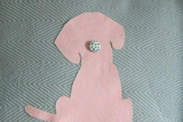 Poppy silhouette on a cushion - OrganisingChaosBlog