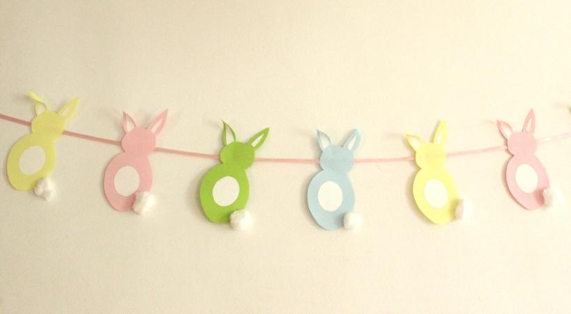 OrganisingChaodBlog - Easter Bunny Garland
