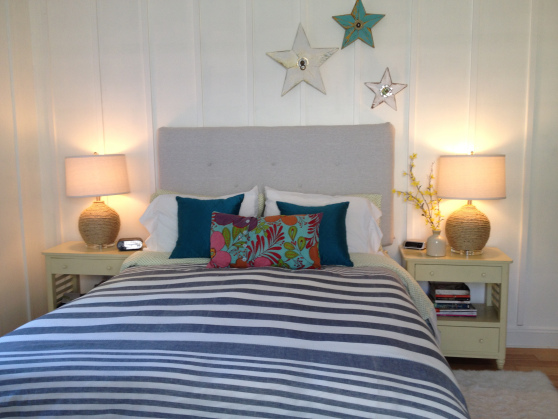 Update your house on a budget - make your own headboard