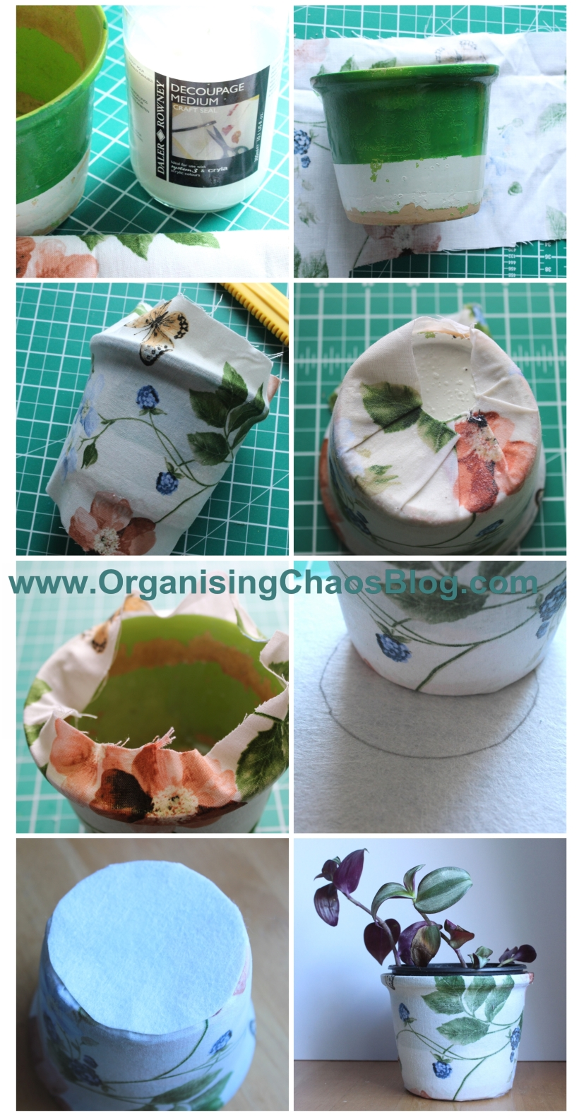 OrganisingChaosBlog - how to cover a pot