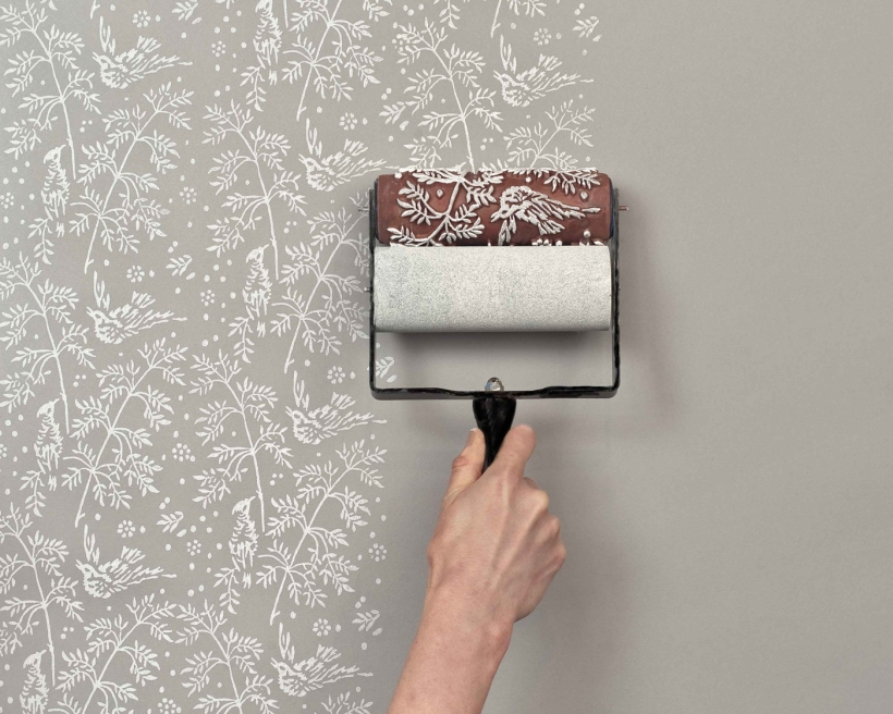 paint that looks like wallpaper-2