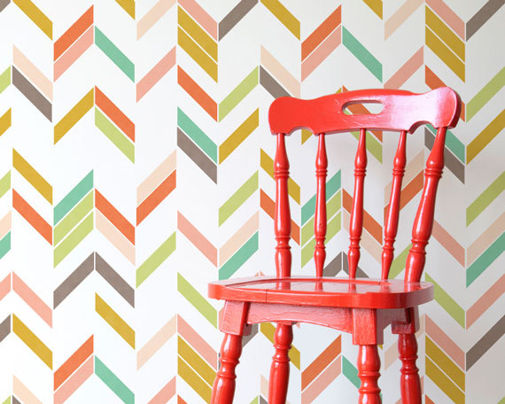 Update your house on a budget - Stencils
