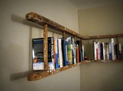OrganisingChaosBlog - Upcycled Ladder