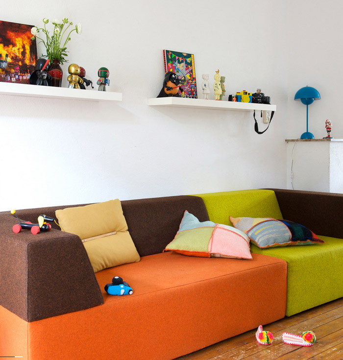 Weekly inspiration  - Amazing couch for playroom