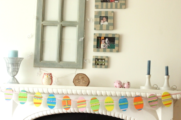 OrganisingChaosBlog - How to make a Easter Egg Garland