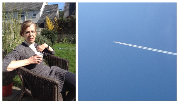 Mum and Easter sky
