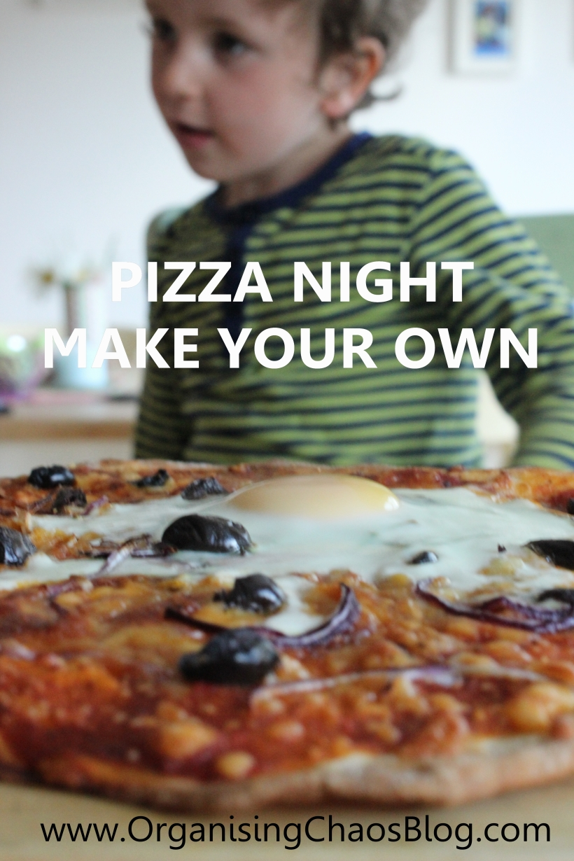 OCB - Pizza Friday - make your own