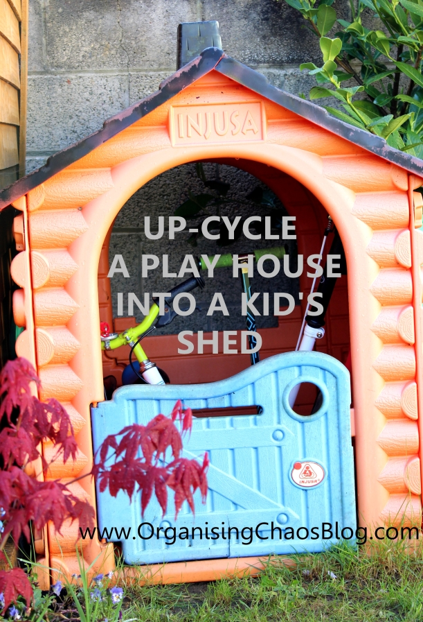 OCB - Upcycling a play house into a kid's shed