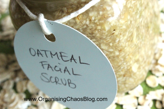 OCB - Home-made Oatmeal Facial Scrub