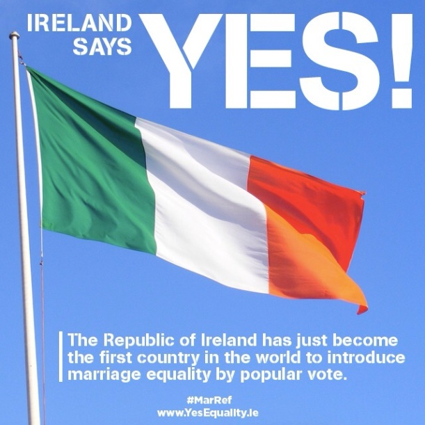 Ireland says yes