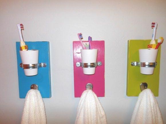 Kids organisation - bathroom