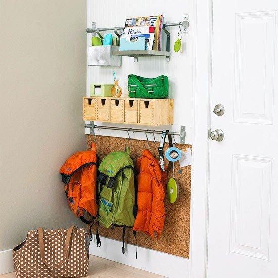 Kids organisation - school bags
