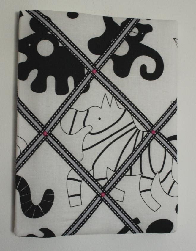 Mini Notice Boards - https://www.etsy.com/ie/listing/233216640/hand-made-fabric-memo-board-24cmx18cm?ref=listing-shop-header-0