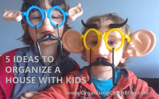 Organising a house with kids