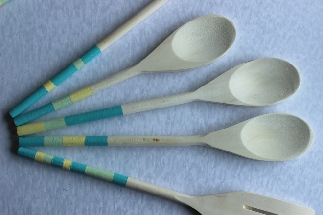 OCB -  - Painted Wooden Spoons