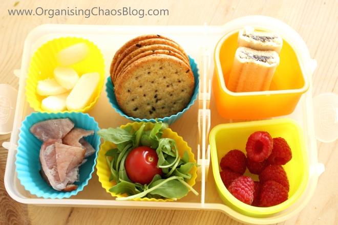 School lunch - Make your own sandwich - Full school lunch