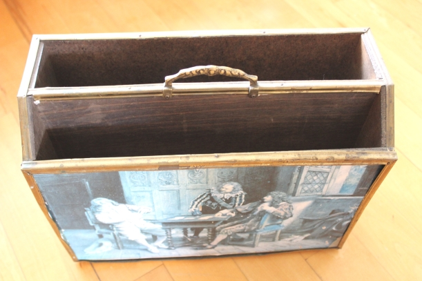 Up-cycling a Vintage Magazine holder