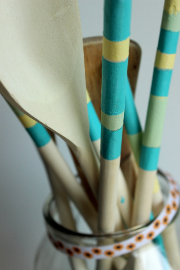 Organising Chaos - Painted Wooden Spoons