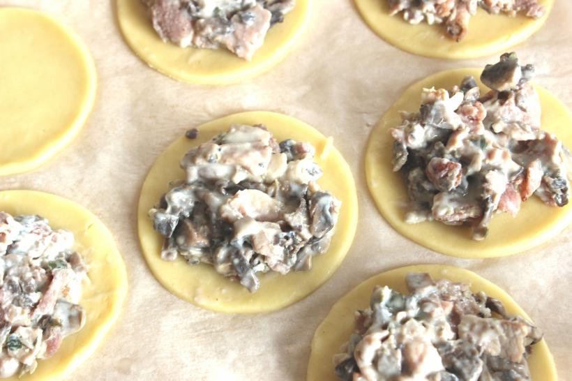 Organising Chaos - Bacon and Mushrooms Empanadas