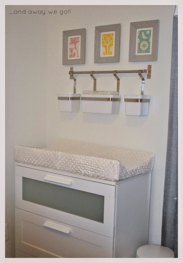 Kitchen Storage in the nursery