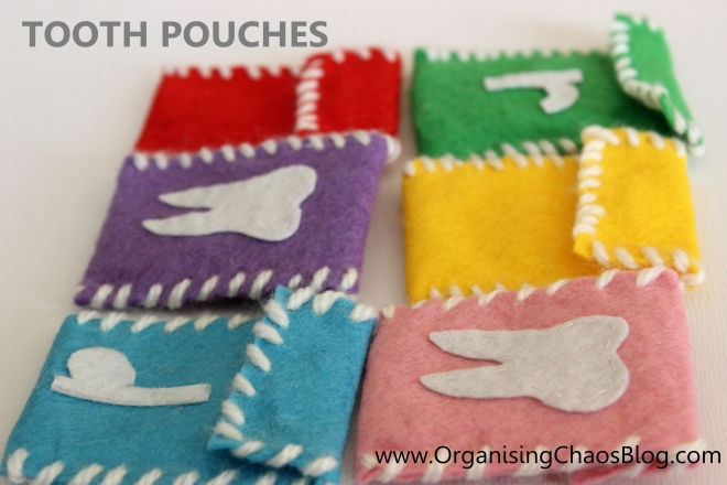 Organising Chaos - Tooth Pouch
