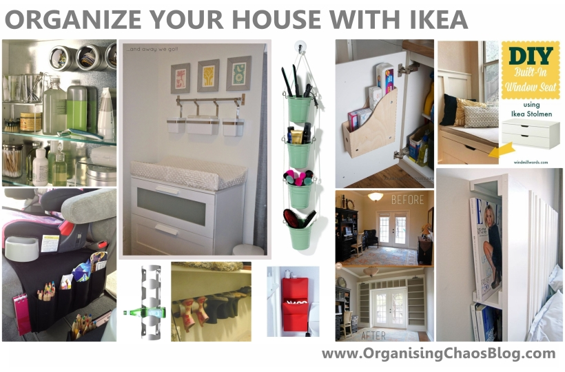 Organize your House with IKEA