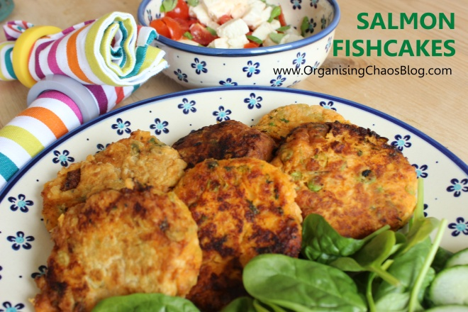 Salmon Fishcakes - delicious and nutricious