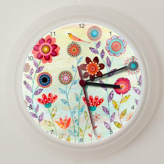 Bohemiam Wall Clock