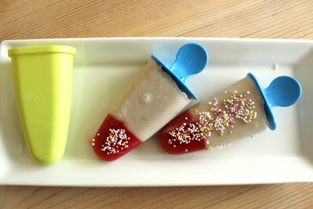 Home-made healthy Ice-Pops